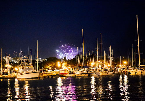 Friday Night FIreworks Cruise in Honolulu, Hawaii