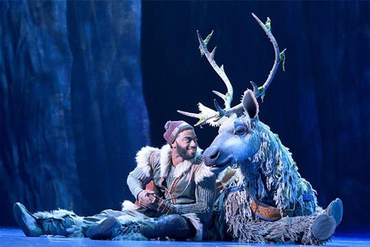 Disney's new musical FROZEN in New York, NY