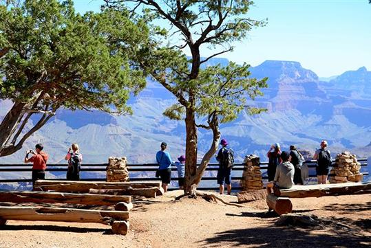 Grand Canyon National Park South Rim Tour Bus with Grand Canyon Destinations in Las Vegas, NV