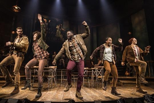 Hadestown on Broadway in New York, NY