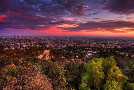 Hollywood Hills Hiking Tour with Transportation
