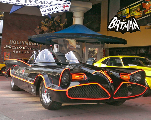 1966 TV Show Batmobile built by George Barris