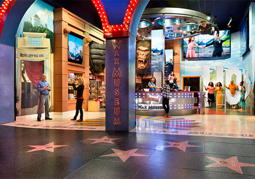 Hollywood Wax Museum CA in Los Angeles, California