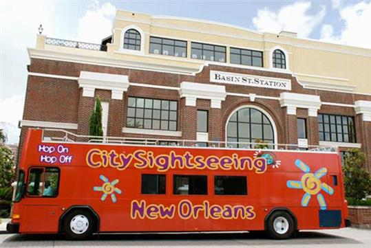 Hop-On Hop-Off City Sightseeing Tour in New Orleans, LA