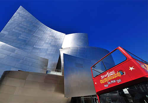 Walt Disney Concert Hall - Hop-On Hop-Off Double Decker City Tour from Los Angeles in Hollywood, California
