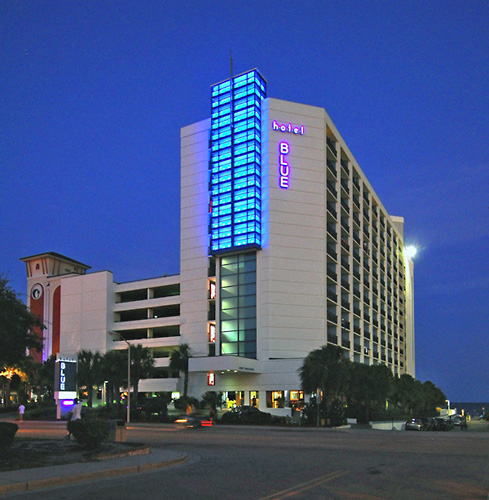 Hotel Blue in Myrtle Beach, South Carolina