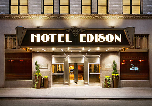 Hotel Edison New York City in New York, New York