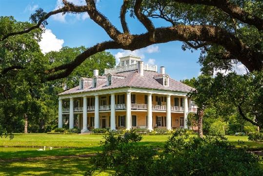 Houmas House Mansion Tour in Darrow, LA