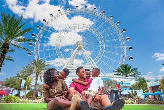 The Wheel at ICON Park in Orlando, FL