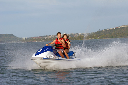 Jet Ski Oahu - SeaBreeze Watersports in Honolulu, Hawaii