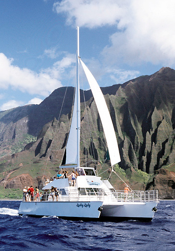 Lucky Lady Sailing NaPali