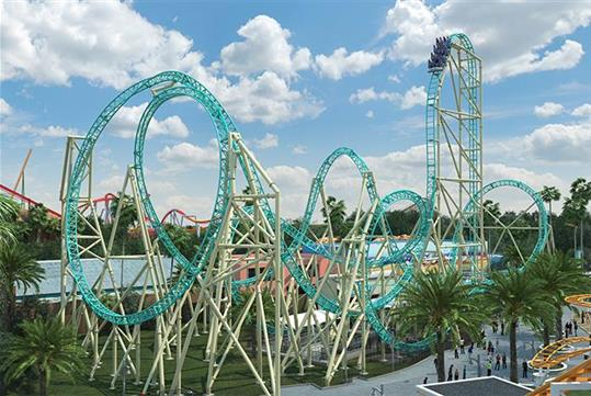 HangTime - Knott's Berry Farms in Buena Park, California