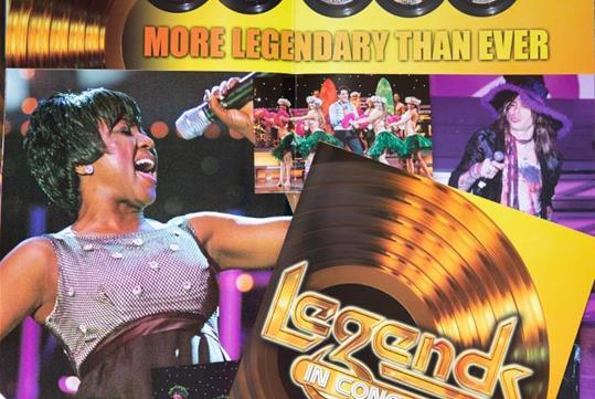 Legends Program and Autograph Book - retail $5.00