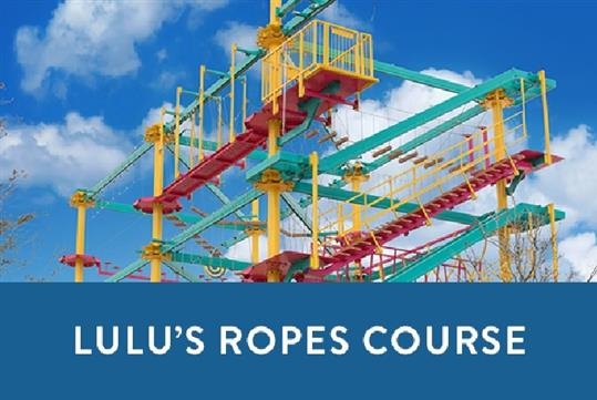 Lulu S Beach Arcade Ropes Course