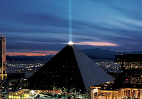 Luxor Hotel and Casino in Las Vegas, Nevada