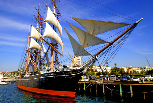 Maritime Museum of San Diego in San Diego, California