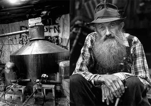 Popcorn Sutton our most famous Moonshiner - Moonshine 'N Wine in Gatlinburg, TN