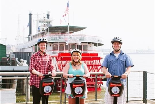 New Orleans Day Segway Tour in New Orleans, LA