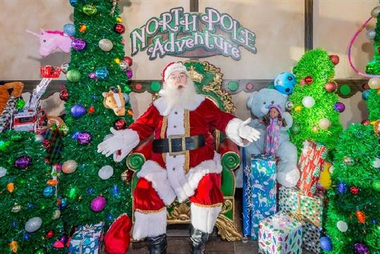 North Pole Adventure Walk Thru Tour at The Shepherd of the Hills in Branson, MO