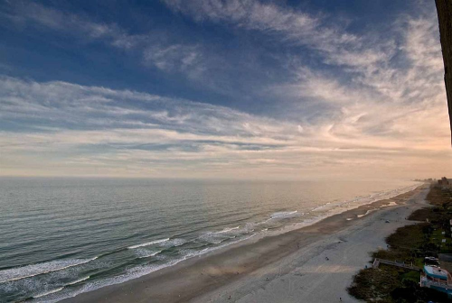Beach/Ocean View - Ocean Reef Resort in Myrtle Beach, South Carolina