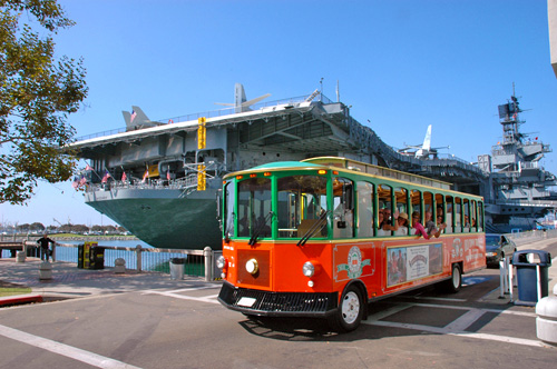 Trolley at Old Town Museum