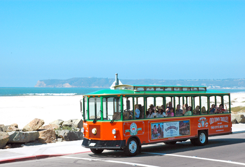 Old Town Trolley La Jolla-Mission Beach Tour in San Diego, California