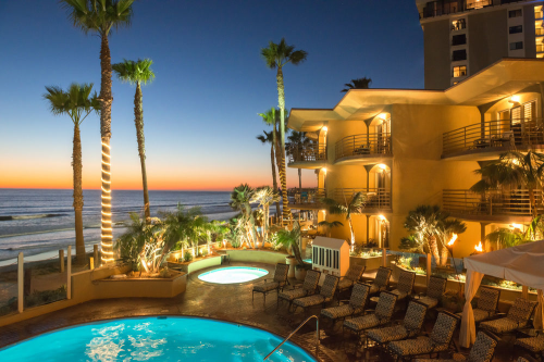 Pacific Terrace Hotel in San Diego, California