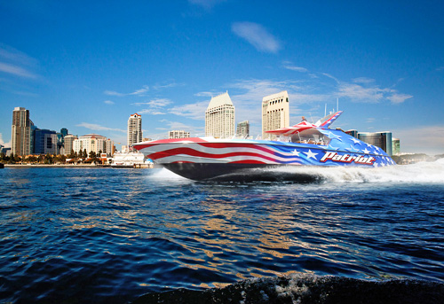 Patriot Jet Boat Ride in San Diego, California