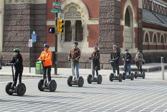 Philly Cheesesteak Tour by Segway with Philly Tour Hub in Philadelphia, PA