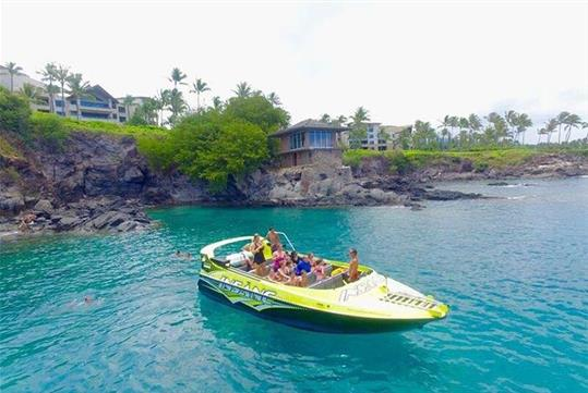 Visit the Famous Cliff House at Montage at Kapalua - 3-hour Private Charter on the Insane Jet Boat to Lanai from Lahaina, HI