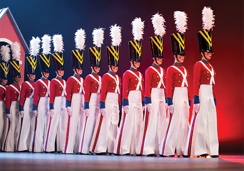 Rockettes Christmas Show.Radio City Christmas Spectacular