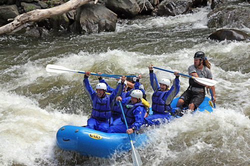 Wildwater Ltd Pigeon River Rafting in Hartford, Tennessee