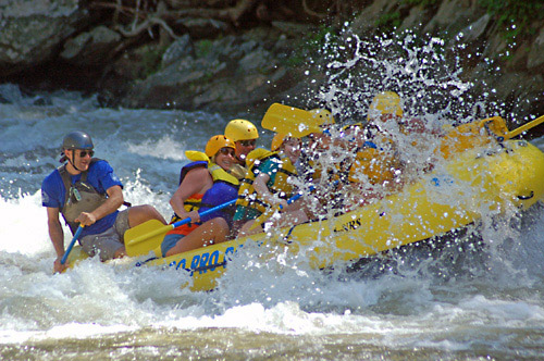 Whitewater Rafting - Rafting in the Smokies in Hartford, Tennessee