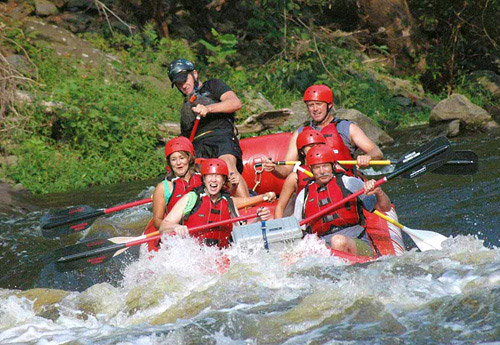 Rafting with Smoky Mountain Outdoors in Gatlinburg, Tennessee