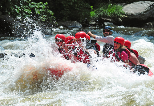 Whitewater Rafting on the Upper Pigeon River