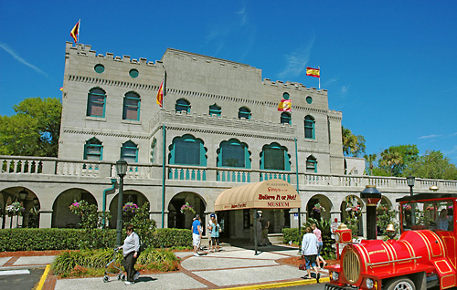 The Castle Warden, built in 1887, was the first permanent home of Robert Ripley's collection.