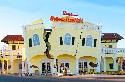 Ripley's Believe It Or Not! Museum in Branson, Missouri