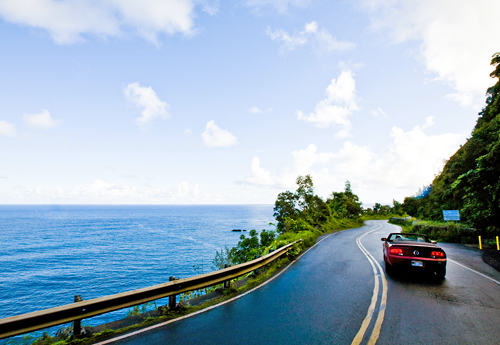 Coastal scenery on the Hana Hwy