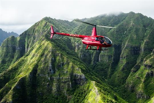 Royal Crown of Oahu Helicopter Tour in Honolulu, HI