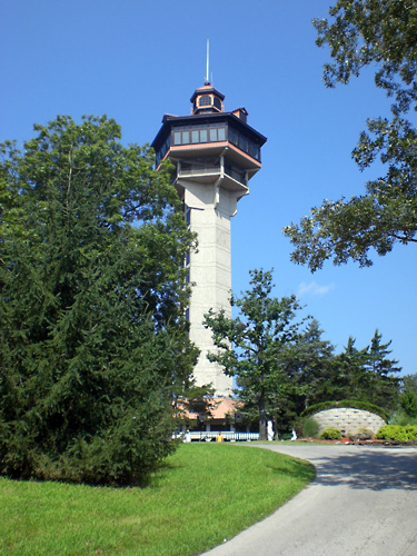 Shepherd of the Hills Inspiration Tower in Branson, Missouri