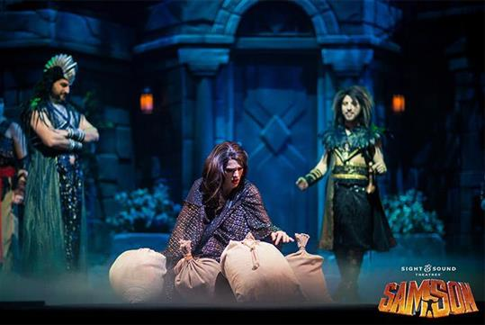 Samson at Sight & Sound Theatre in Branson, MO