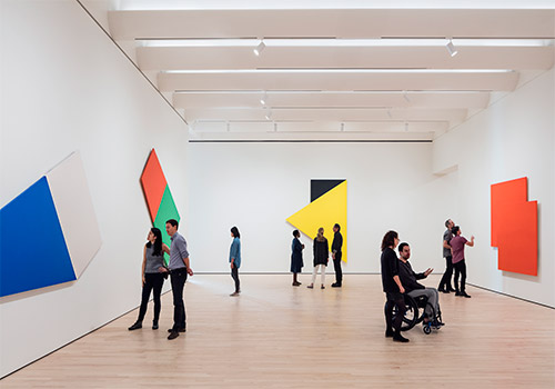 Approaching American Abstraction: The Fisher Collection exhibition; photo: © Henrik Kam, courtesy SFMOMA.