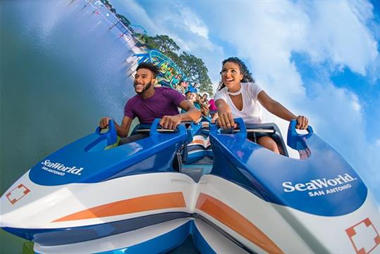 Wave Breaker - SeaWorld San Antonio in San Antonio, TX