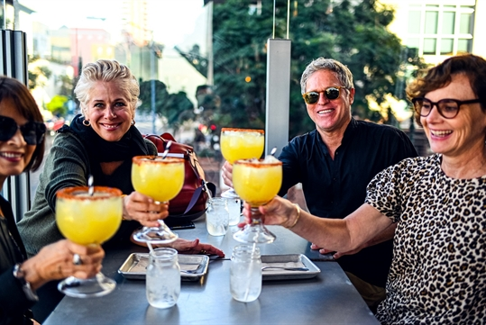 Enjoy all kinds of tasty drinks. - Secret Food Tours San Diego in San Diego, CA