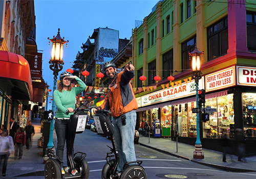 Segway Night Tour of Chinatown, Little Italy, Wharf & Waterfront in San Francisco, California