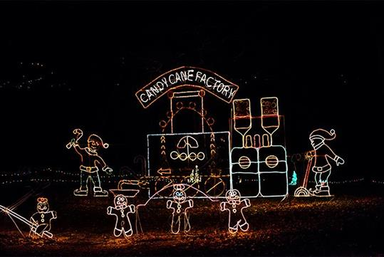 Shepherd of the Hills Trail of Lights in Branson, Missouri