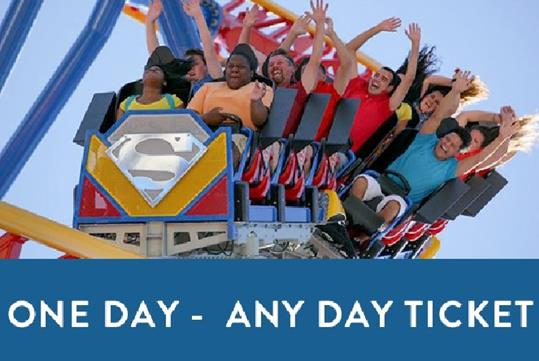Six Flags Discovery Kingdom Tickets - Vallejo, CA