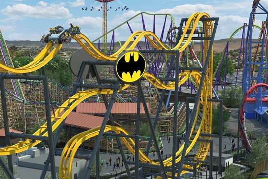 BATMAN™: The Ride - Six Flags Discovery Kingdom in Vallejo, CA
