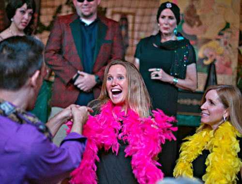 Lucky guests get a special guest cameo role!
