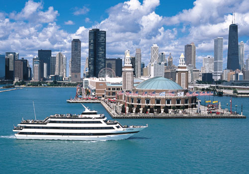 Spirit of Chicago in Chicago, Illinois
